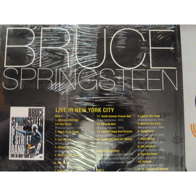 bruce springsteen lLIVE IN NEW YORK CITY