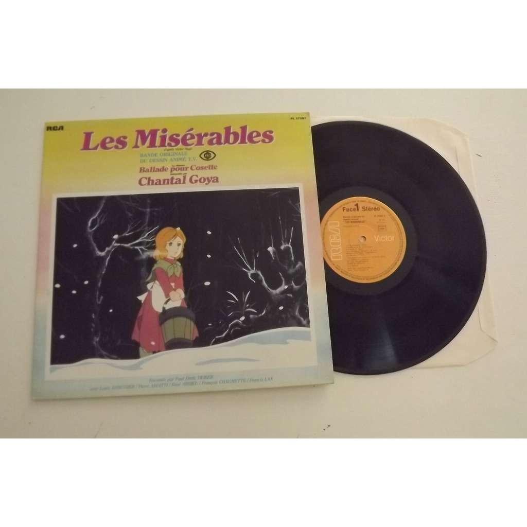 DEBOUT JEAN JACQUES CHANTAL GOYA Les Misérables