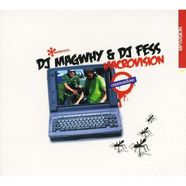 DJ Magwhy & DJ Fess Macro Vision MP3