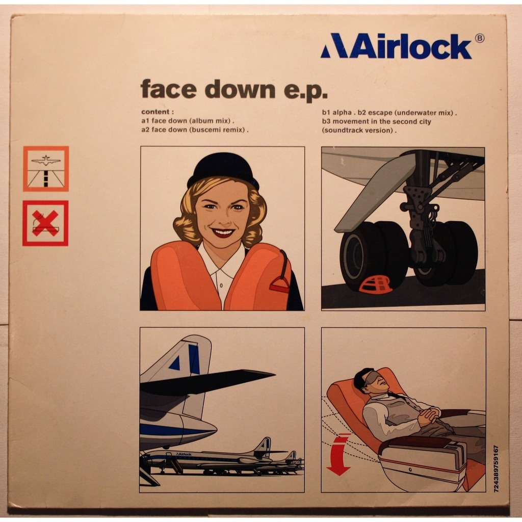 Airlock Face down EP