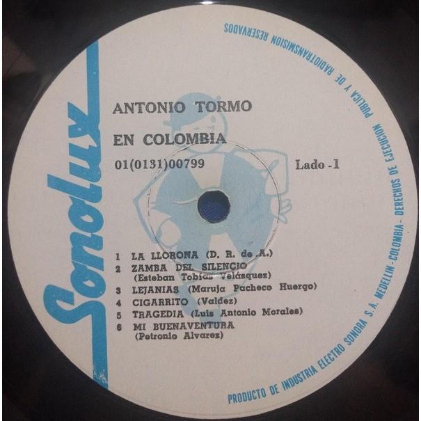 Antonio Tormo - En Colombia Antonio Tormo - En Colombia