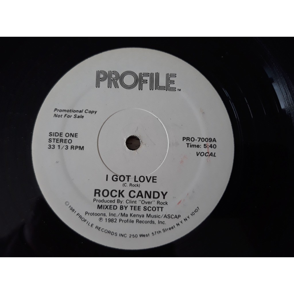 Rock Candy (4) - I Got Love (12, Promo) Rock Candy (4) - I Got Love (12, Promo)