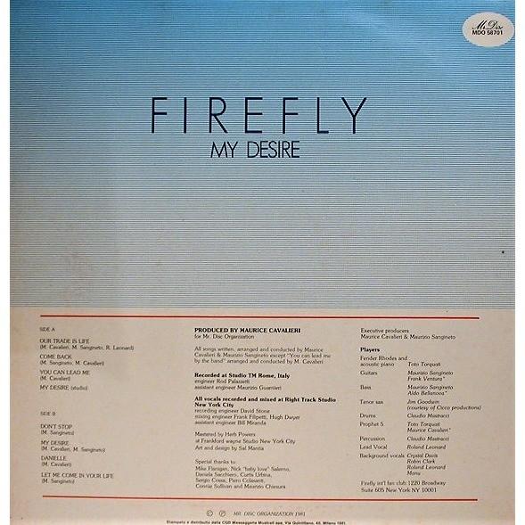 Firefly My Desire