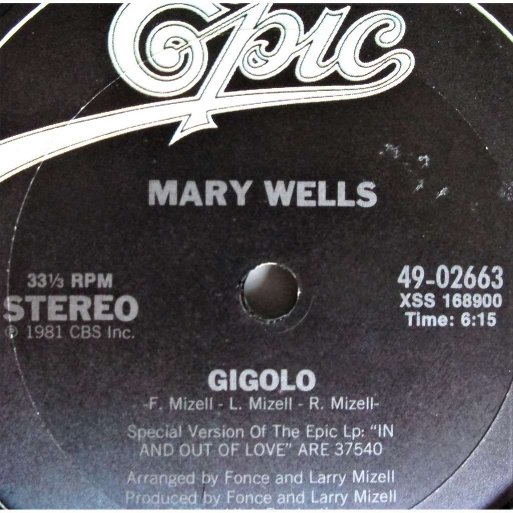 Mary Wells Gigolo