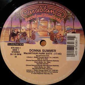 Donna Summer MacArthur Park Suite / Last Dance