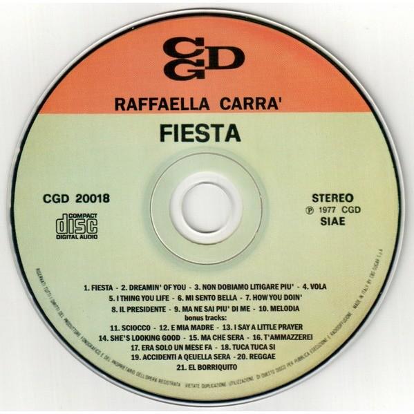 Raffaella Carra' Fiesta + Bonus tracks