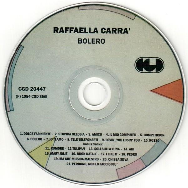 Raffaella Carra' Bolero + Bonus tracks