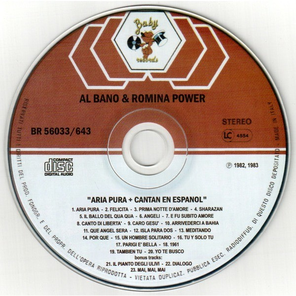 Al Bano & Romina Power Aria Pura + Cantan En Espanol