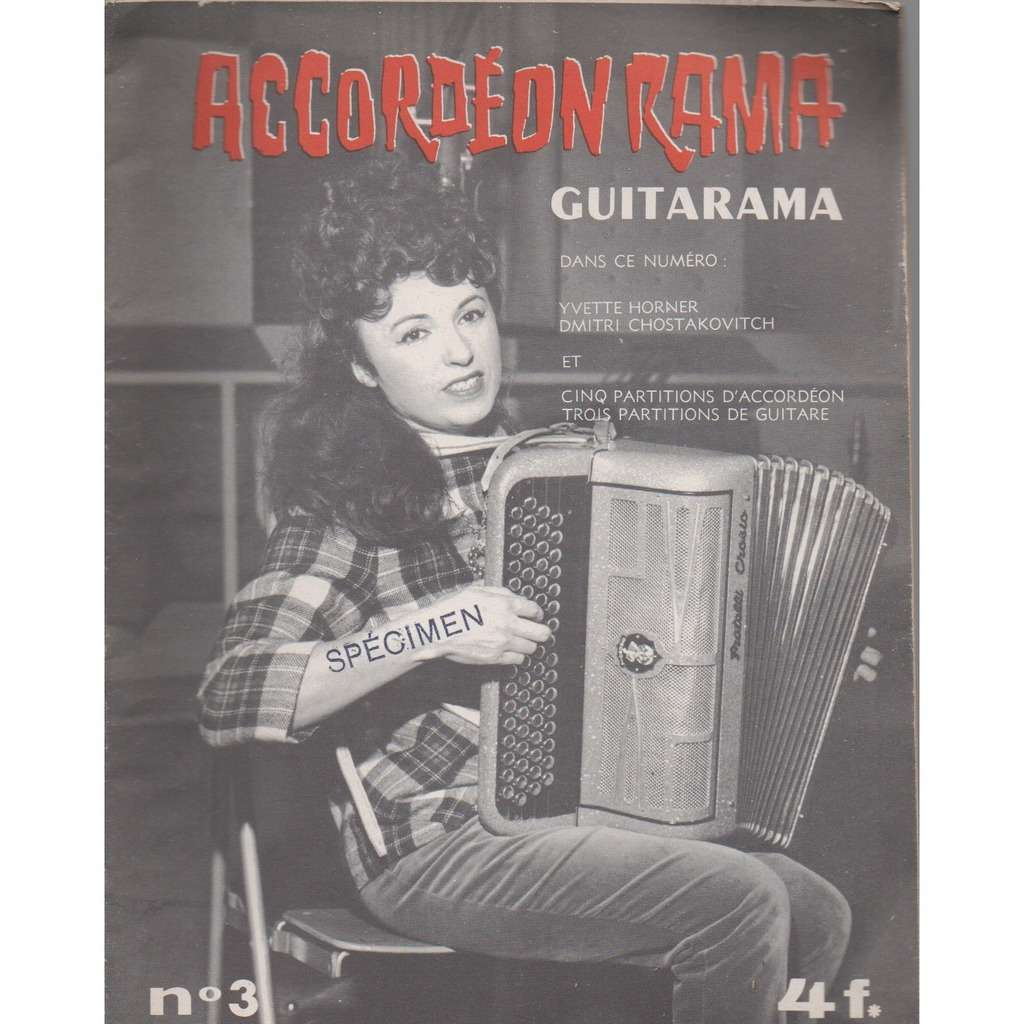 yvette horner accordéonrama/guitarama