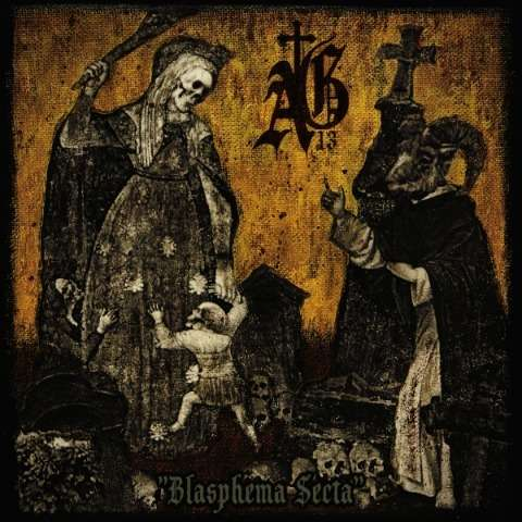 ABYSMAL GRIEF Blasphema Secta. Black Vinyl