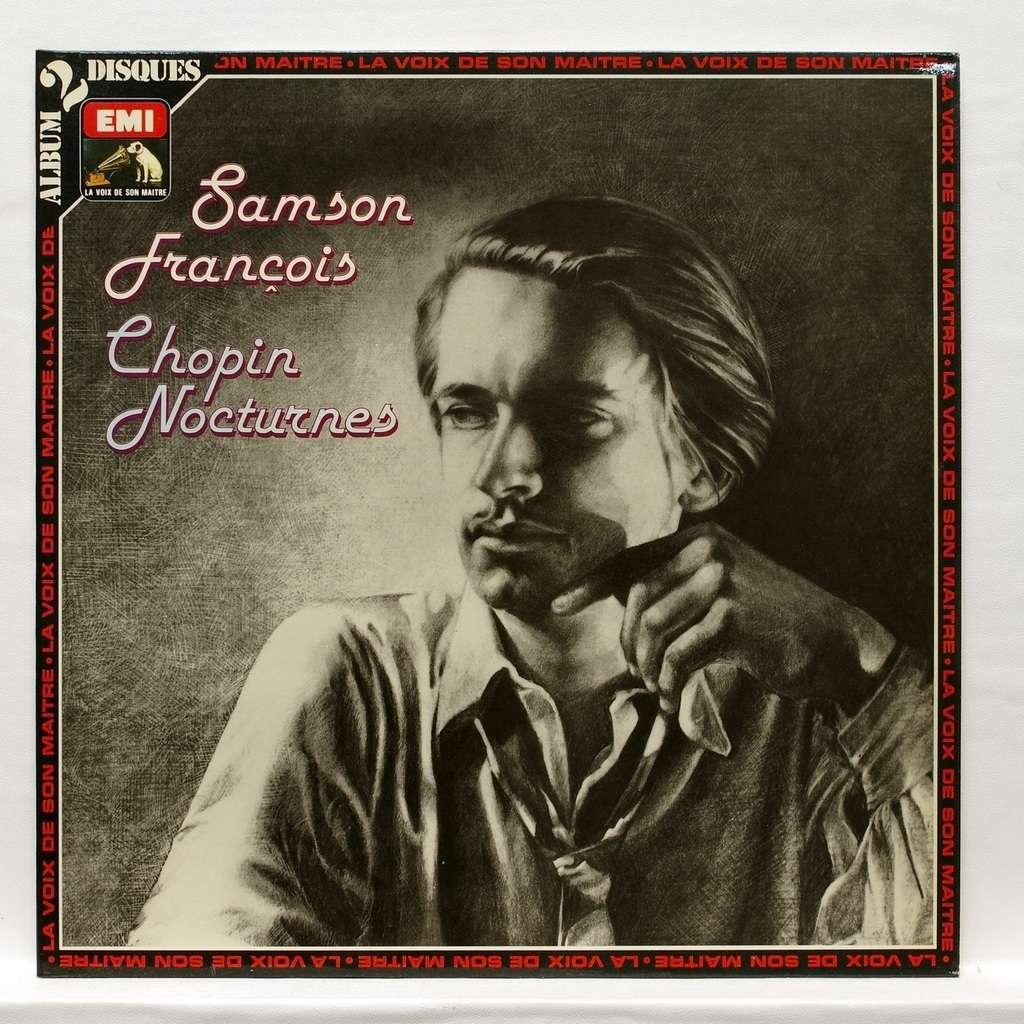 samson francois chopin : nocturnes nos.1-19