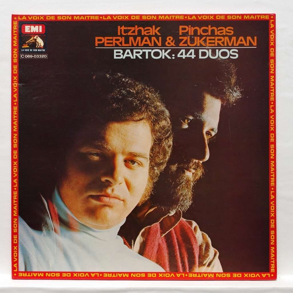 Itzhak Perlman & Pinchas Zukerman Bartok : 44 duos