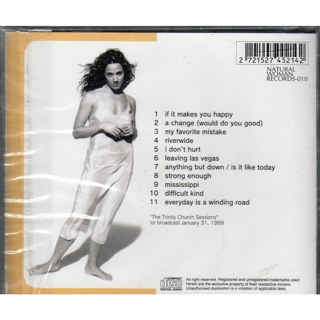 Sheryl Crow Everyday Sessions ('The Trinity Church Sessions' Broadcast 31.01.1999)