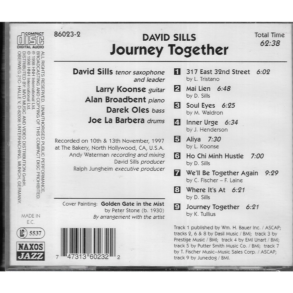 David Sills Journey Together