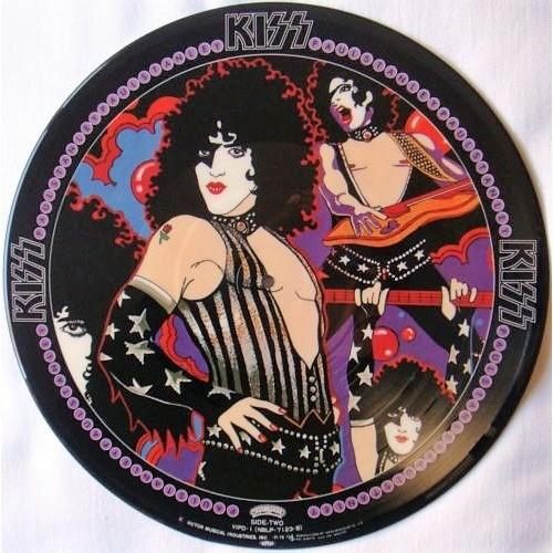 Kiss Paul Stanley (Japan Ltd re 9-trk LP Picture Disc PVC slv!)