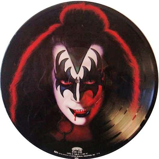 kiss Gene Simmons (Japan Ltd re 11-trk LP Picture Disc PVC slv!)