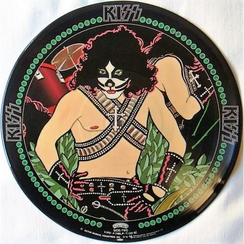 Kiss Peter Criss (Japan Ltd re 10-trk LP Picture Disc PVC slv!)