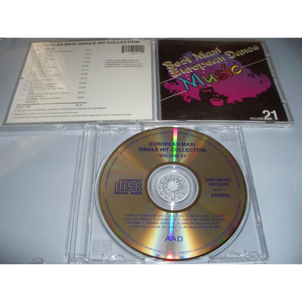 European Maxi Single Hit Collection vol.21 Nina Pee,Billie Jean,Alan Ross,Brian Ice,John Arrow,Time,Prime Time,Sway,Midnight's Moskow