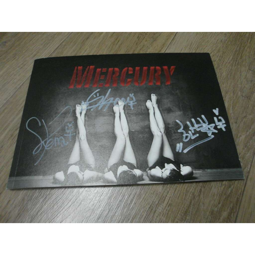 MERCURY Don't stop /SIGNED!