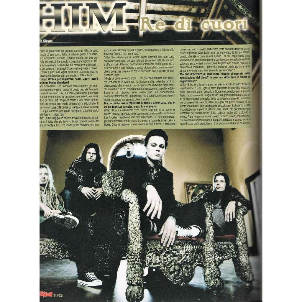 Him Rock Hard (N.37 Oct. 2005) (Italian 2005 music magazine!)