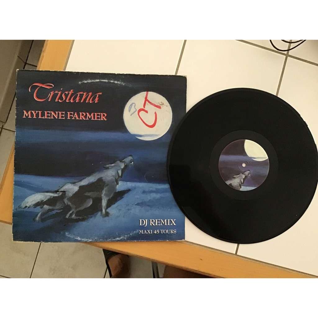 myléne farmer TRISTANA DJ REMIX (pochette loup )