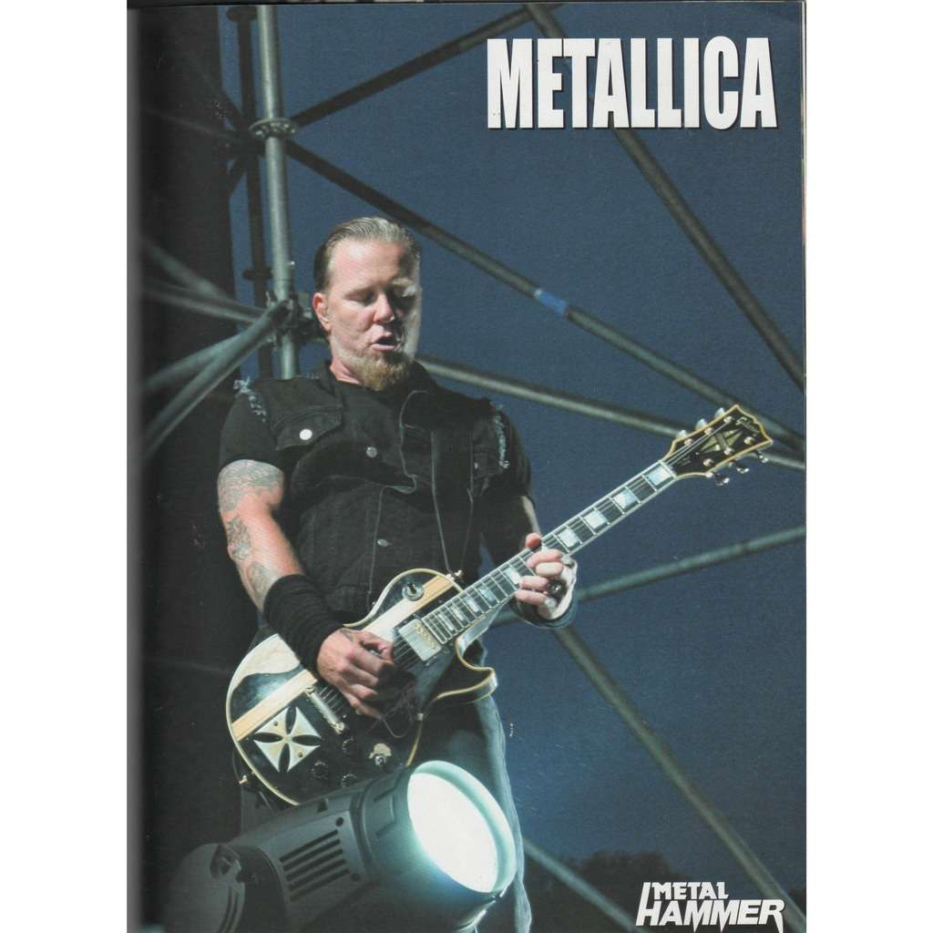 Metallica Metallica (Italian 2008 double-sided promo poster from Metal Hammer magazine!)