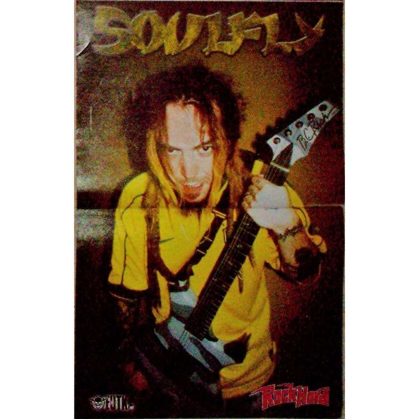 Soulfly Soulfly (Italian 2004 promo poster from Rock Hard magazine!)