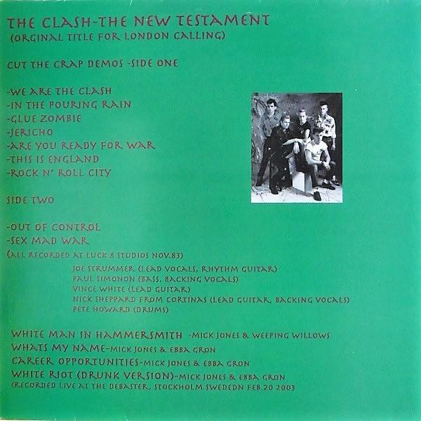 The Clash The New Testament (Cut The Crap Demos)
