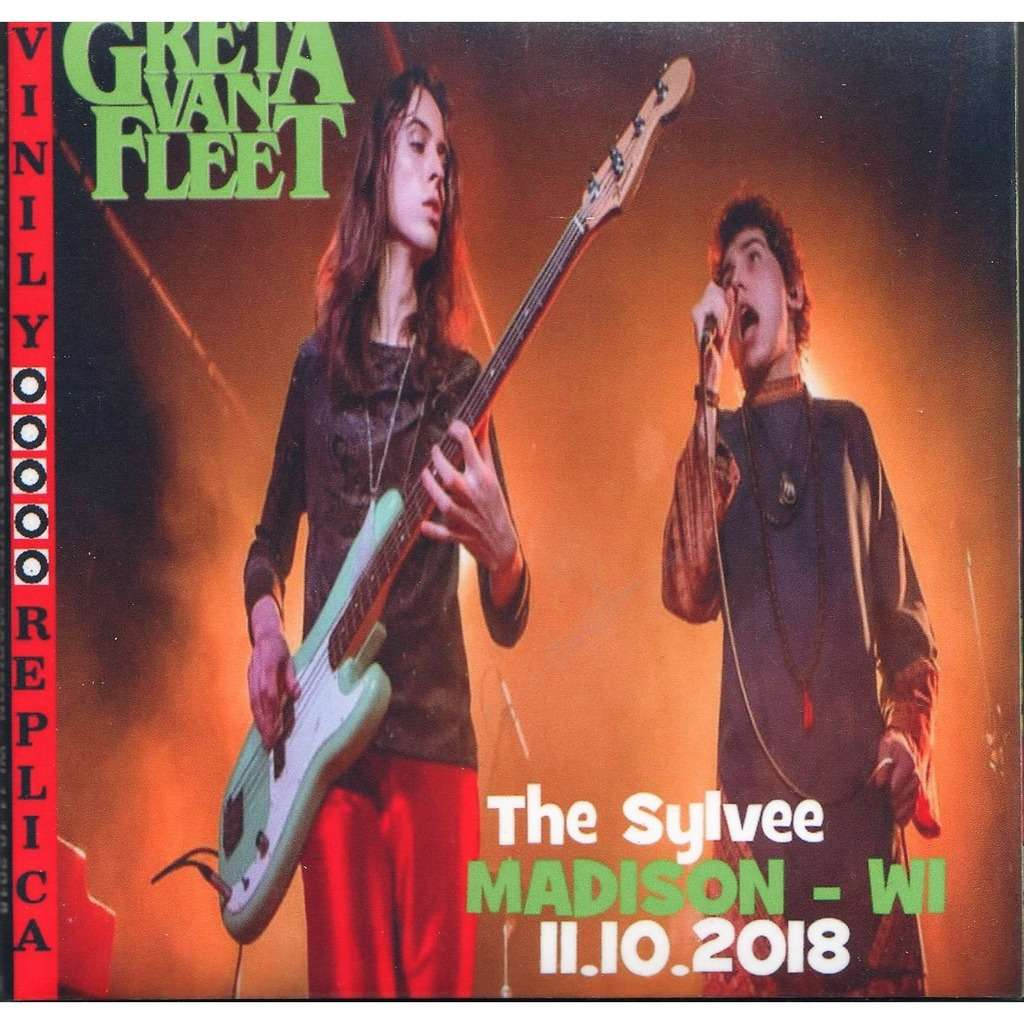 Greta Van Fleet Live At 'The Sylvee' (Madison WI USA 11.10.2018)