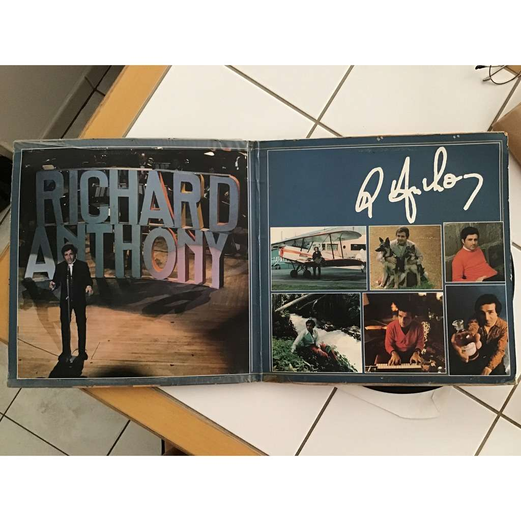 RICHARD ANTHONY DISQUE D'OR