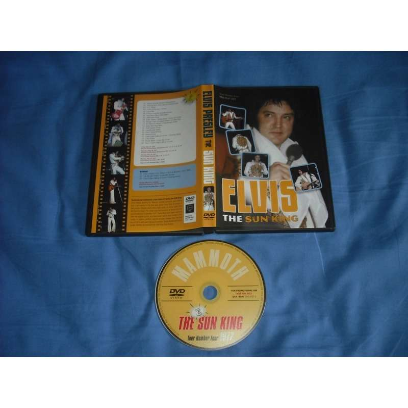 elvis presley 1 dvd the sun king 63 minutes unreleased footages live may 1977
