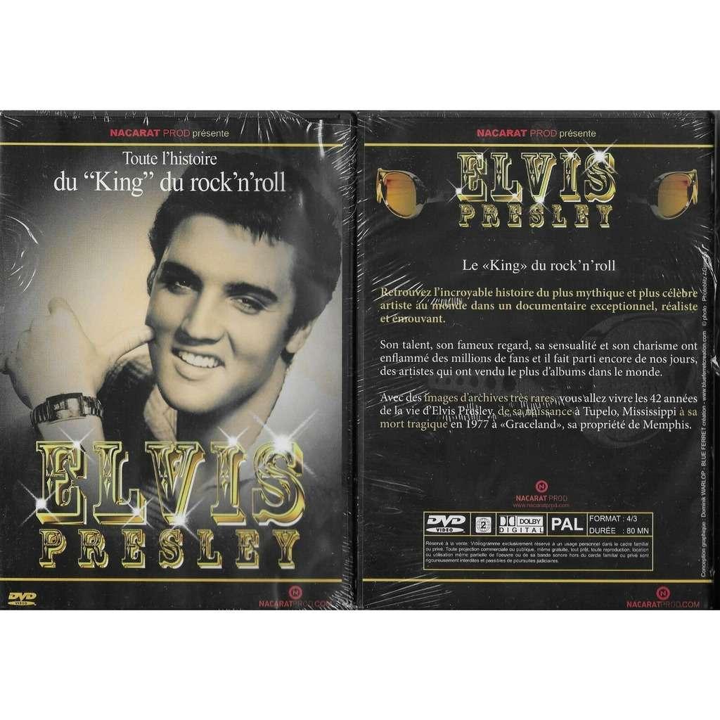 elvis presley 1 dvd toute l'histoire du rock'n'roll 80 minutes