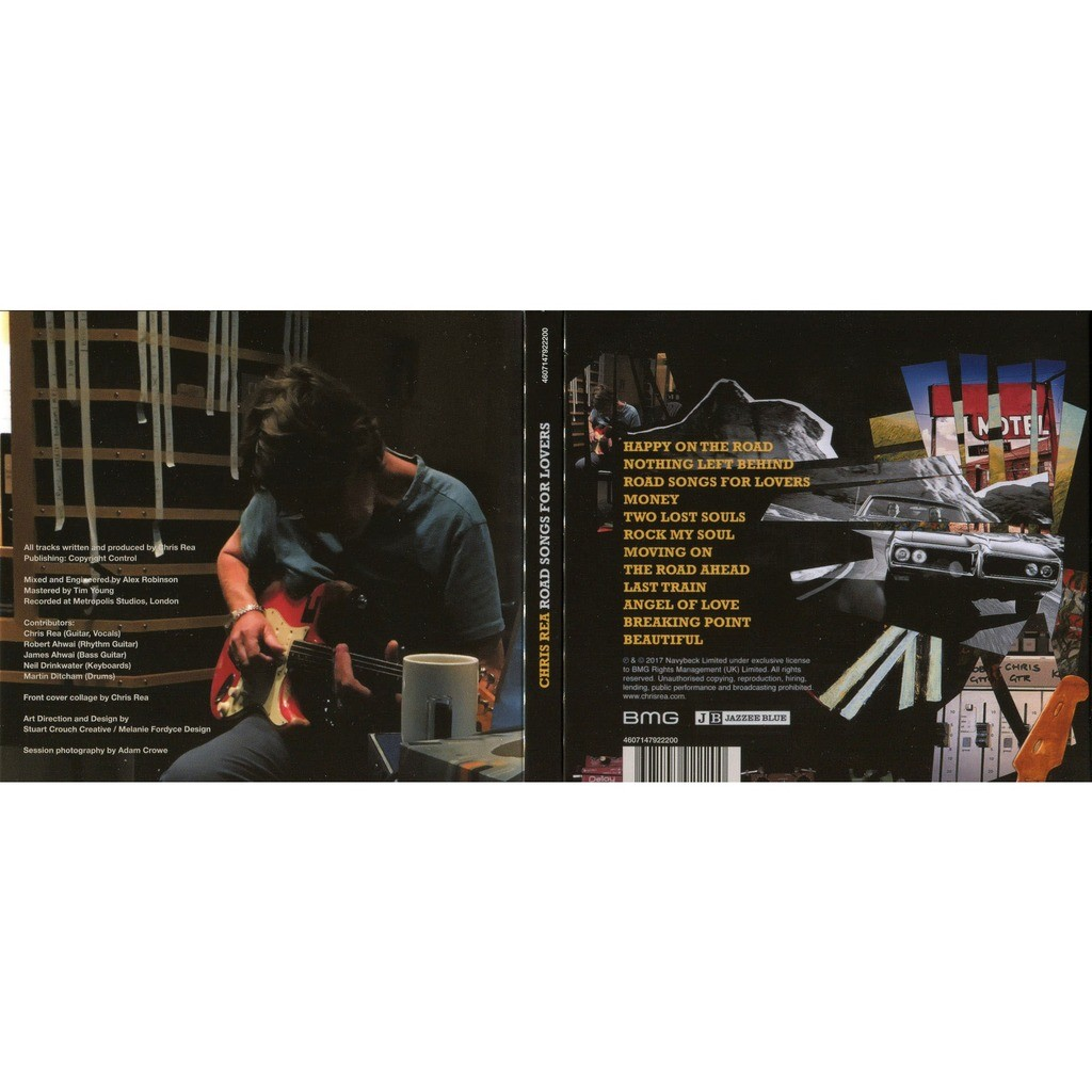 Chris Rea Road Songs For Lovers (2017) 2CD digipak Factory-Sealed with bonus CD Live At Montreux Jazz Festival