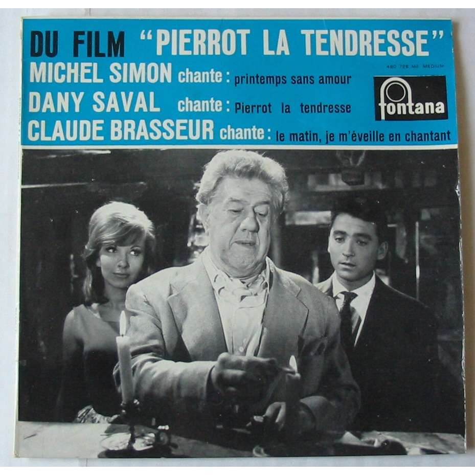 MICHEL SIMON DANY SAVAL CLAUDE BRASSEUR PIERROT LA TENDRESSE
