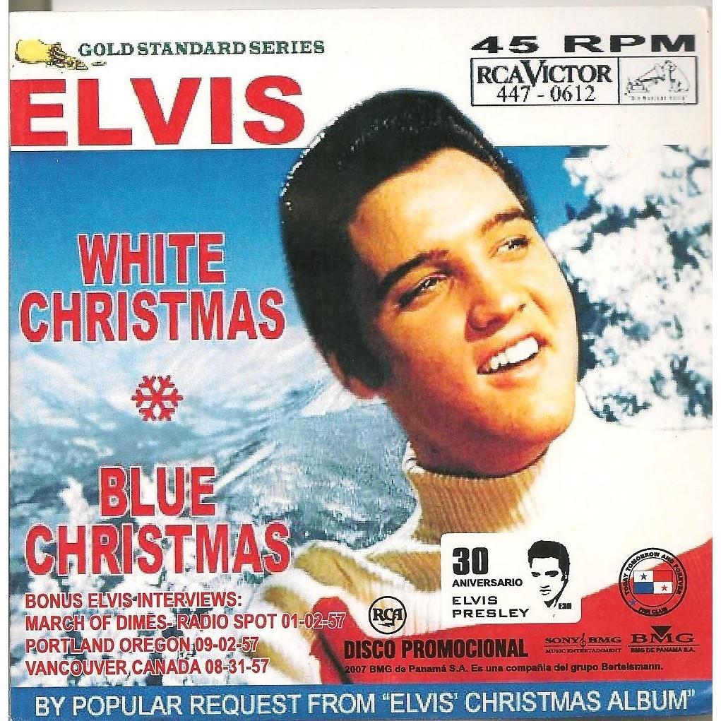 elvis presley 1 cd panama white christmas / blue christmas
