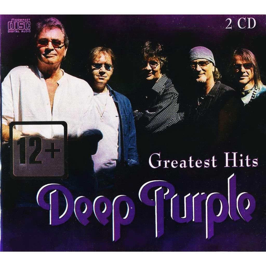 Deep Purple Greatest Hits (2CD Digipak New & Factory-Sealed) Zebra Studio