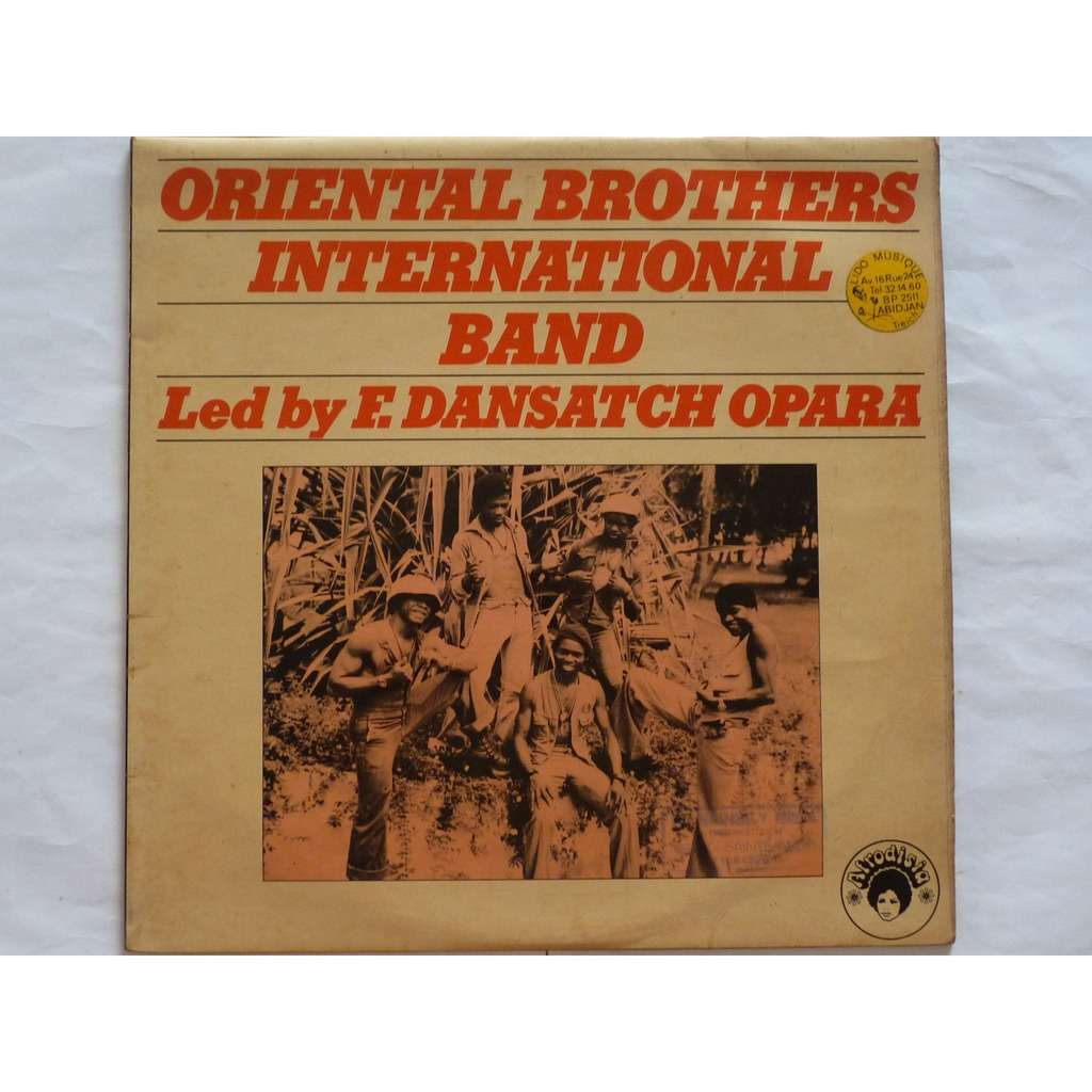 oriental brothers international band led by f. dansatch opara