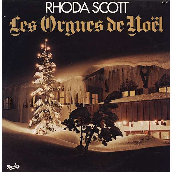 rhoda scott les orgues de Noël