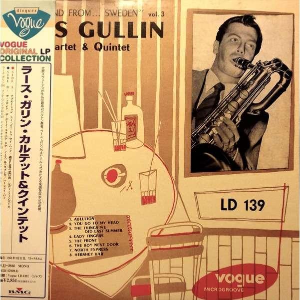 Lars Gullin New Sound From Sweden Vol. 3
