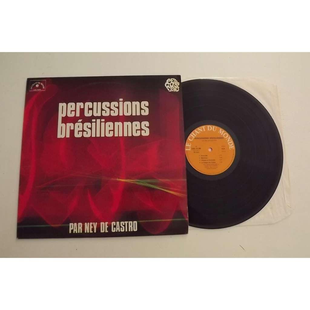 De Castro Ney Percussions Brésiliennes