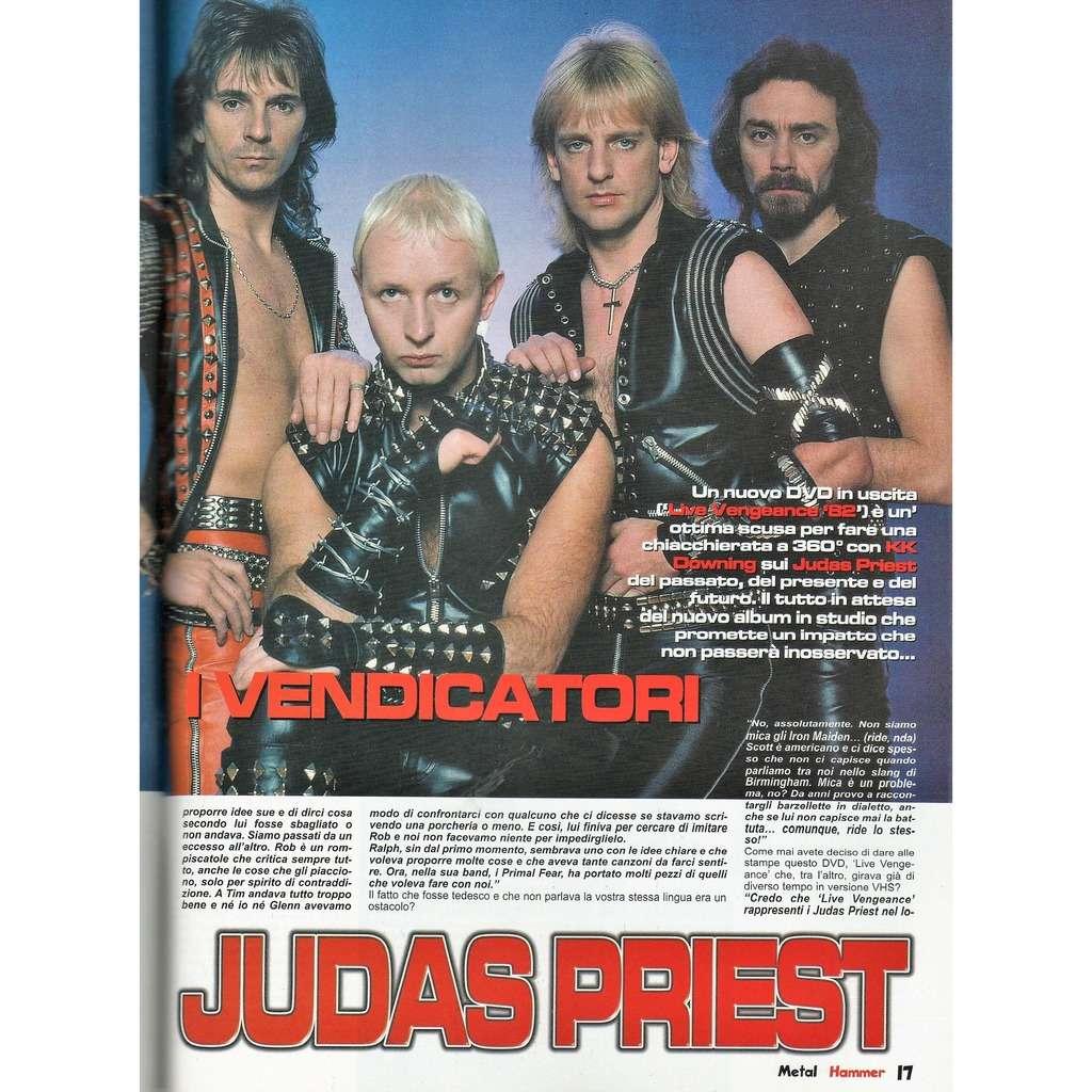 judas priest Metal Hammer (N.3 March 2006) (Italian 2006 music magazine!!)