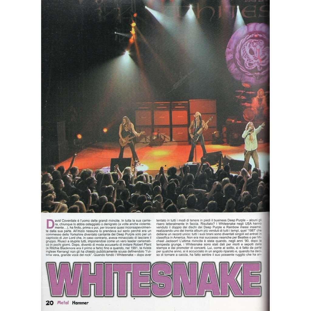 Whitesnake Metal Hammer (N.3 March 2006) (Italian 2006 music magazine!!)