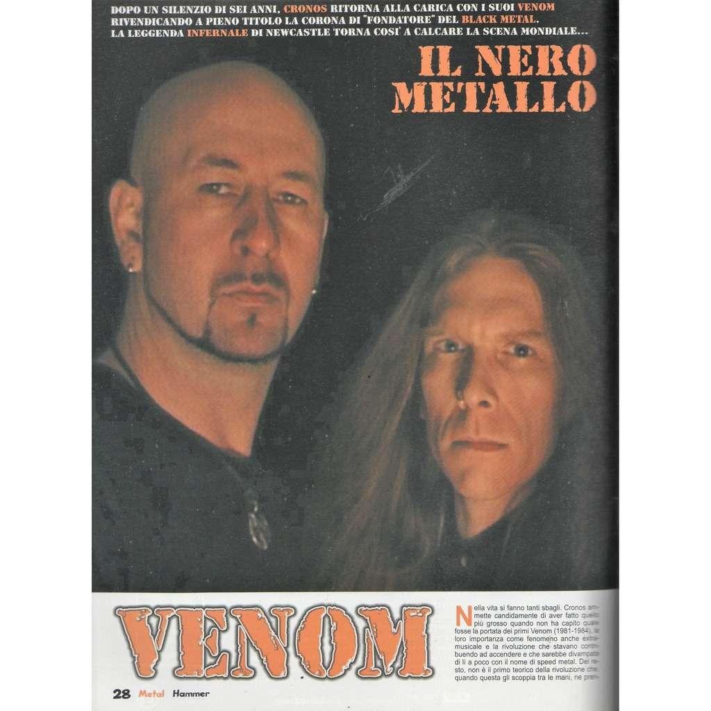 Venom Metal Hammer (N.3 March 2006) (Italian 2006 music magazine!!)
