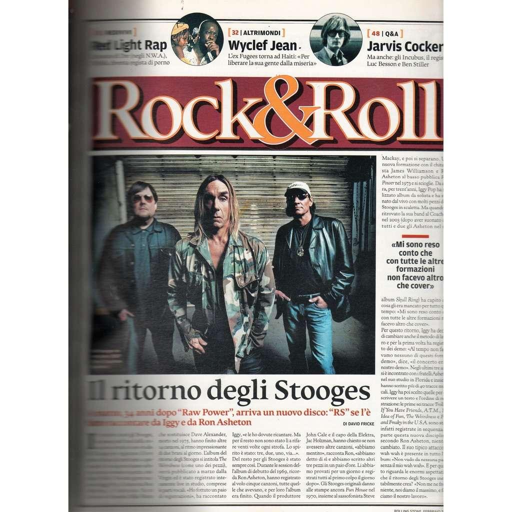 Stooges Rolling Stone (N.40 Feb. 2007) (Italian 2007 music magazine!!)