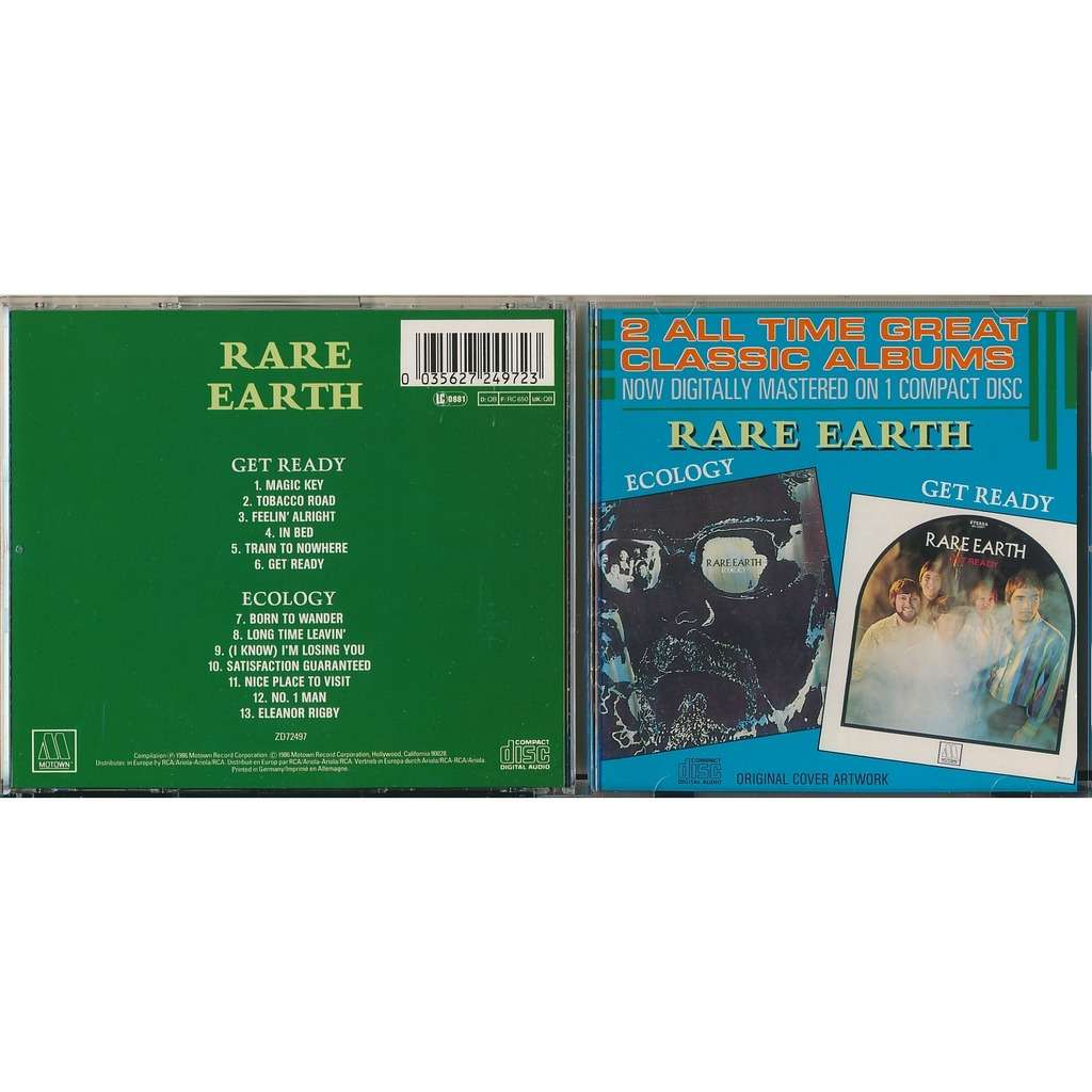 Rare Earth Get Ready / Ecology (2on1)
