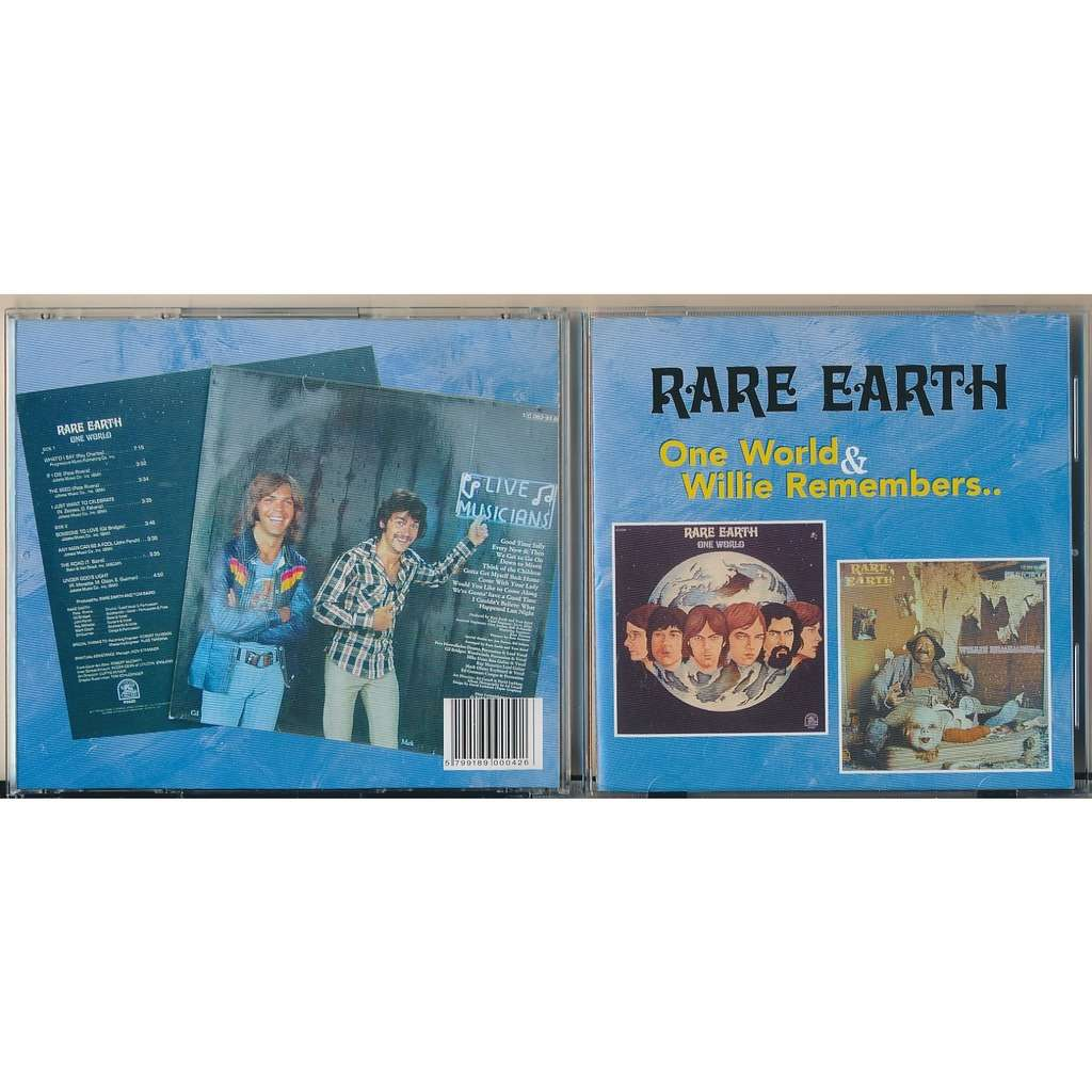 Rare Earth one world + willie remebers (2on1)