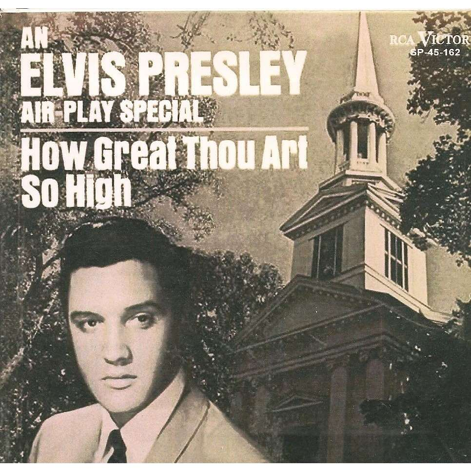 elvis presley 1 cd how great thou art / so high panama 4 outtakes