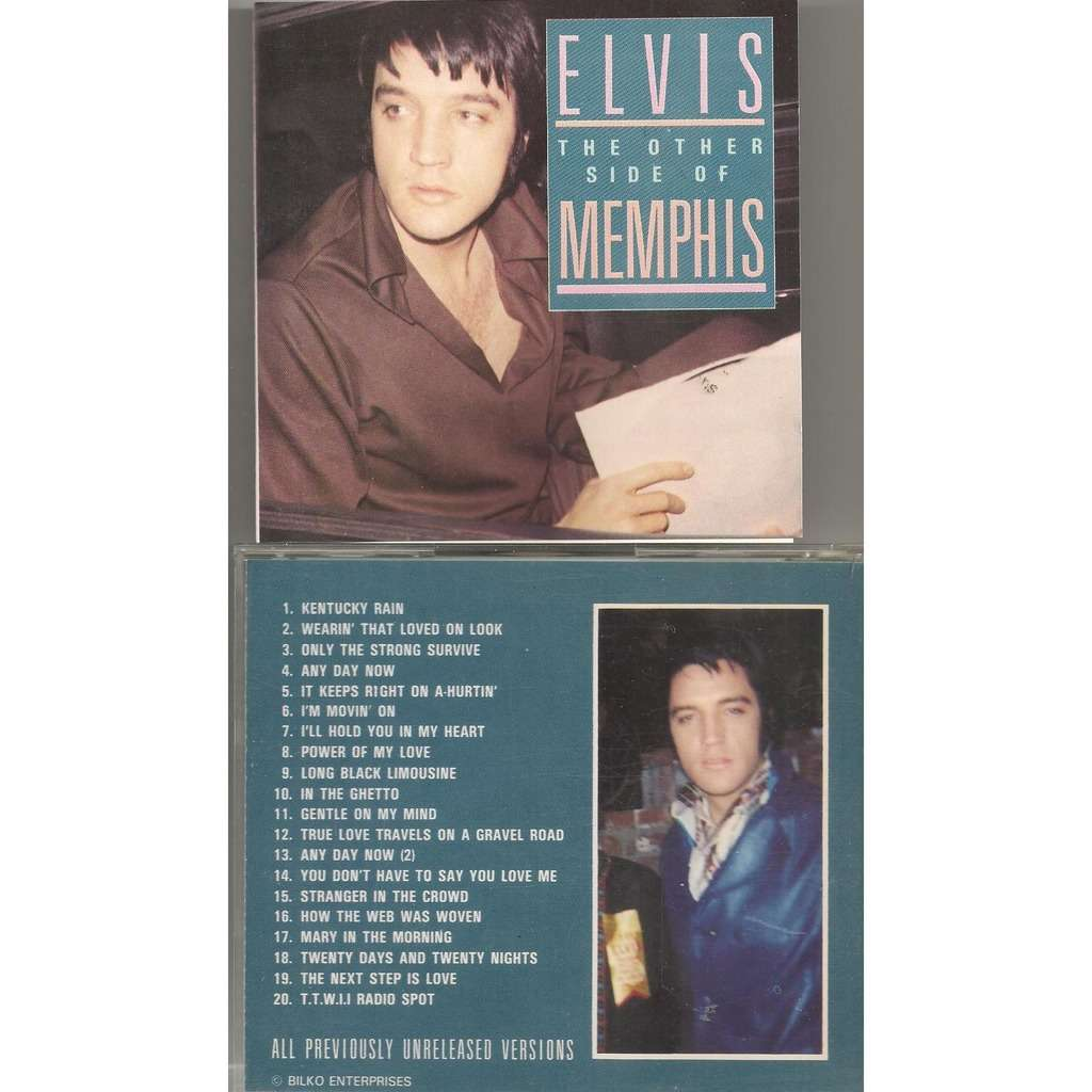 elvis presley 1 cd the other side of memphis cd 19 outtakes