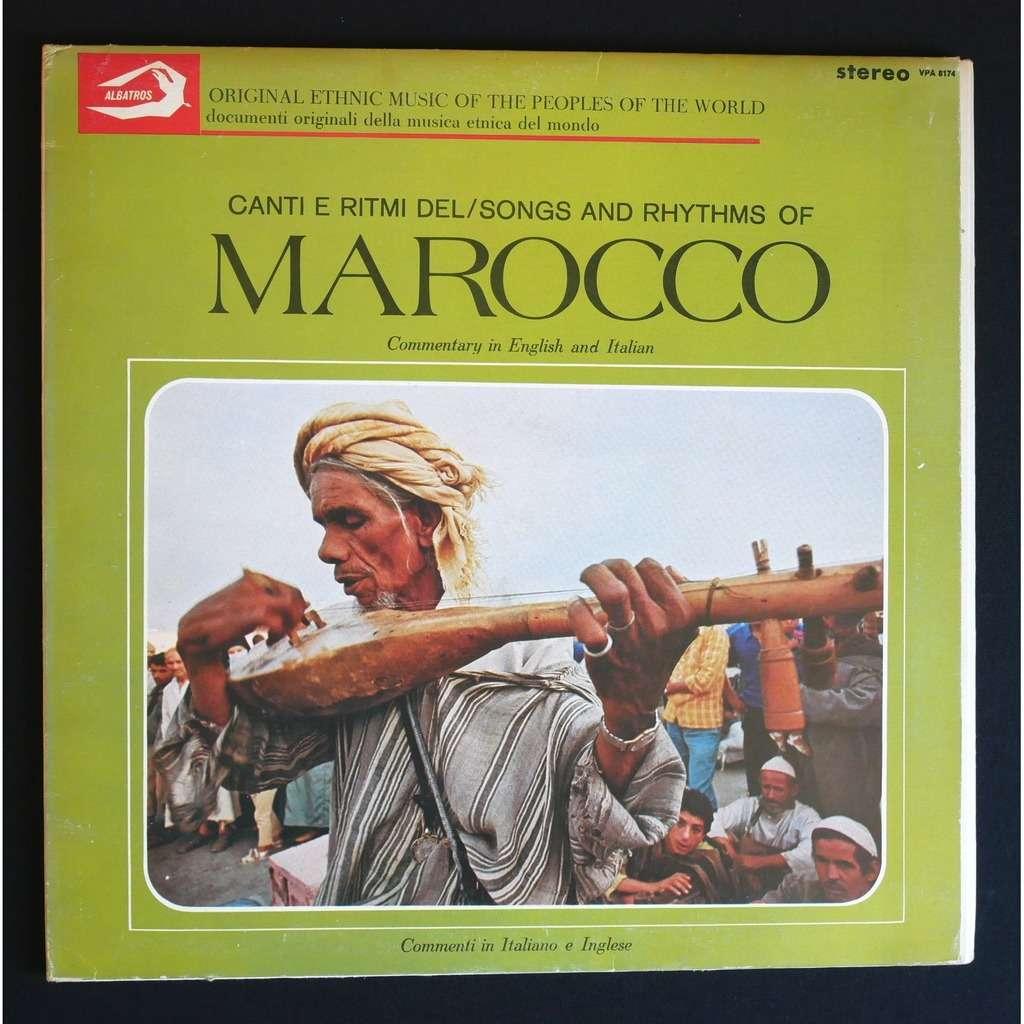 Various Canti E Ritmi Del Marocco / Songs And Rhythms Of Marocco