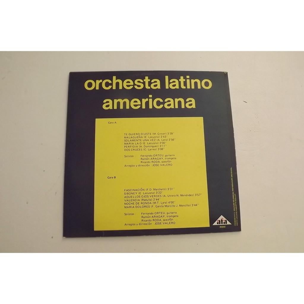 ORCHESTA LATINO AMERICANA